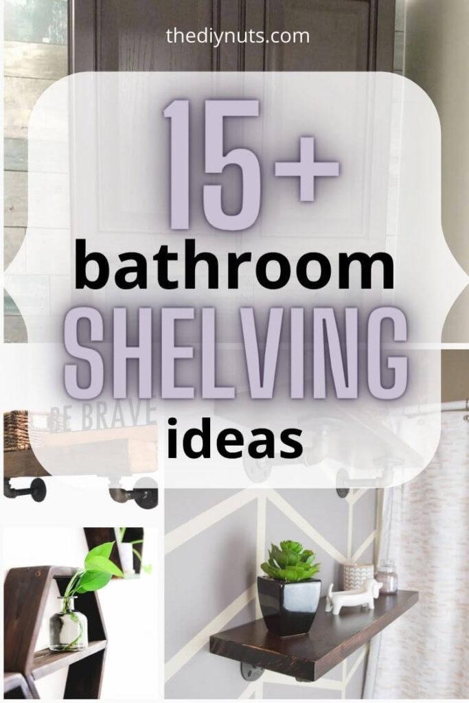 15+ bathroom shelving ideas