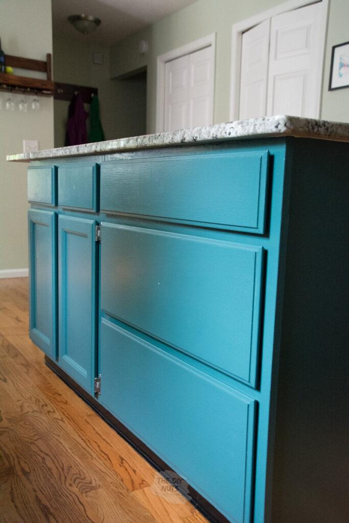 Sherwin Williams Rookwood Sash Green Kitchen Cabinets
