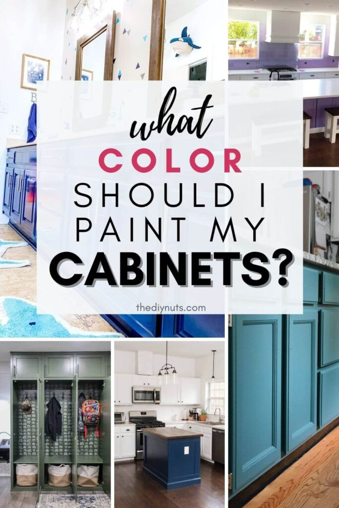 what color should I paint my cabinets with color ideas
