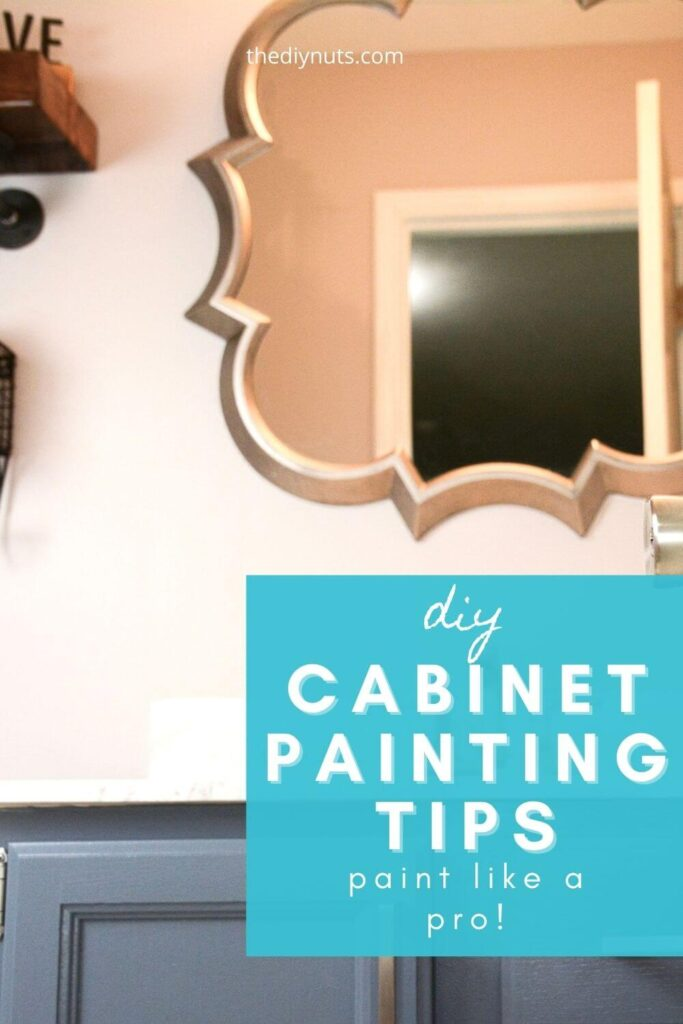 diy cabinet painting tips