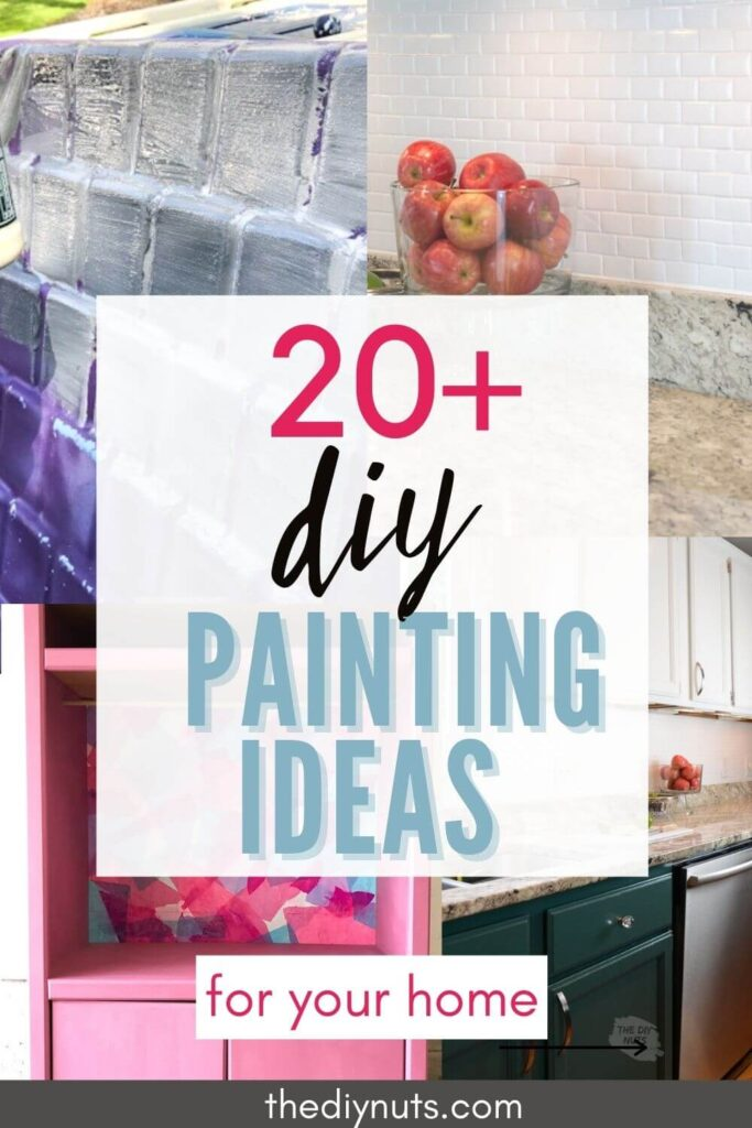 20+ diy painting project ideas with painted home projects