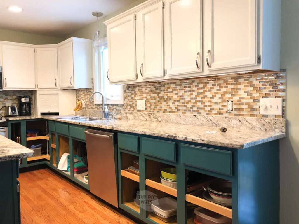How To Paint A Tile Backsplash In Your Kitchen With Video The Diy Nuts