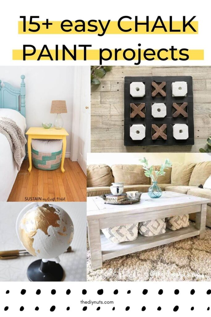 15+ easy chalk paint projects