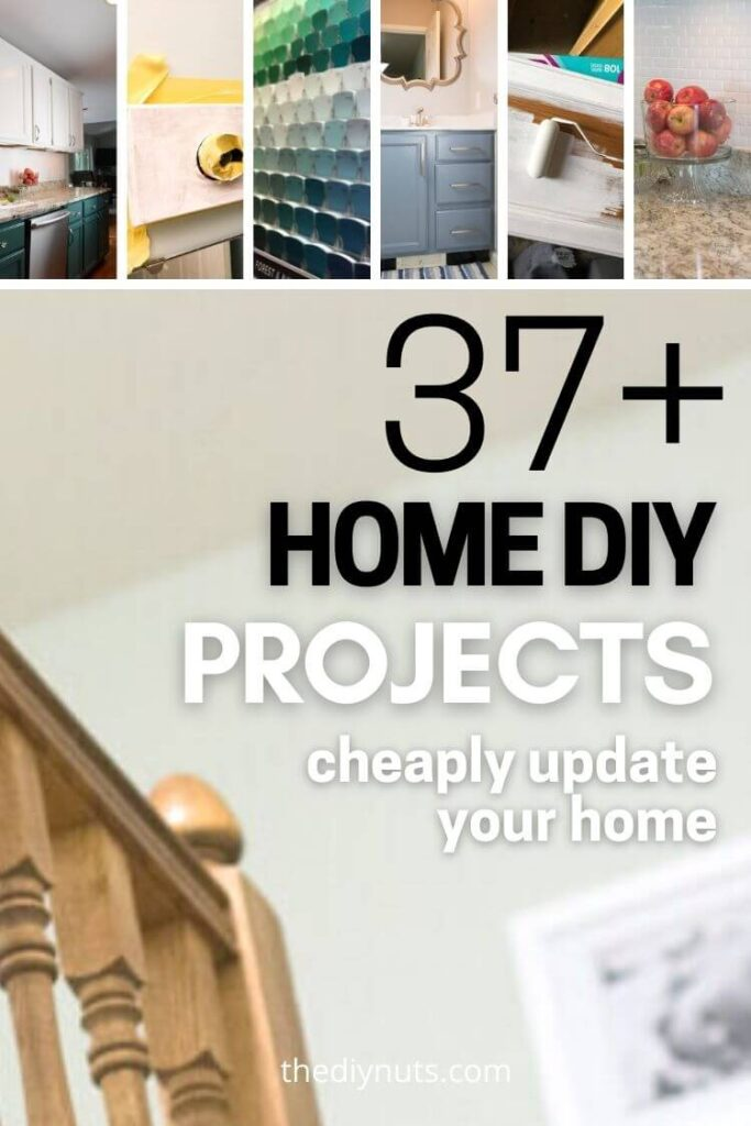 37+ home diy projects to update your home with images of different diy ideas