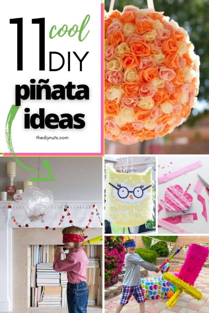 11 cool DIY piñata ideas